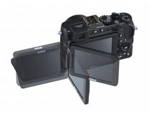دوربین با صفحهی نمایش کاملا متحرک