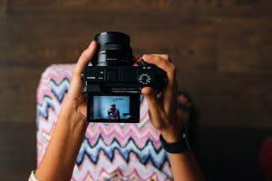 دوربین بدون آینه mirrorless