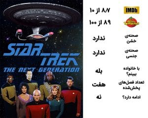 معرفی سریال Star Trek The Next Generation