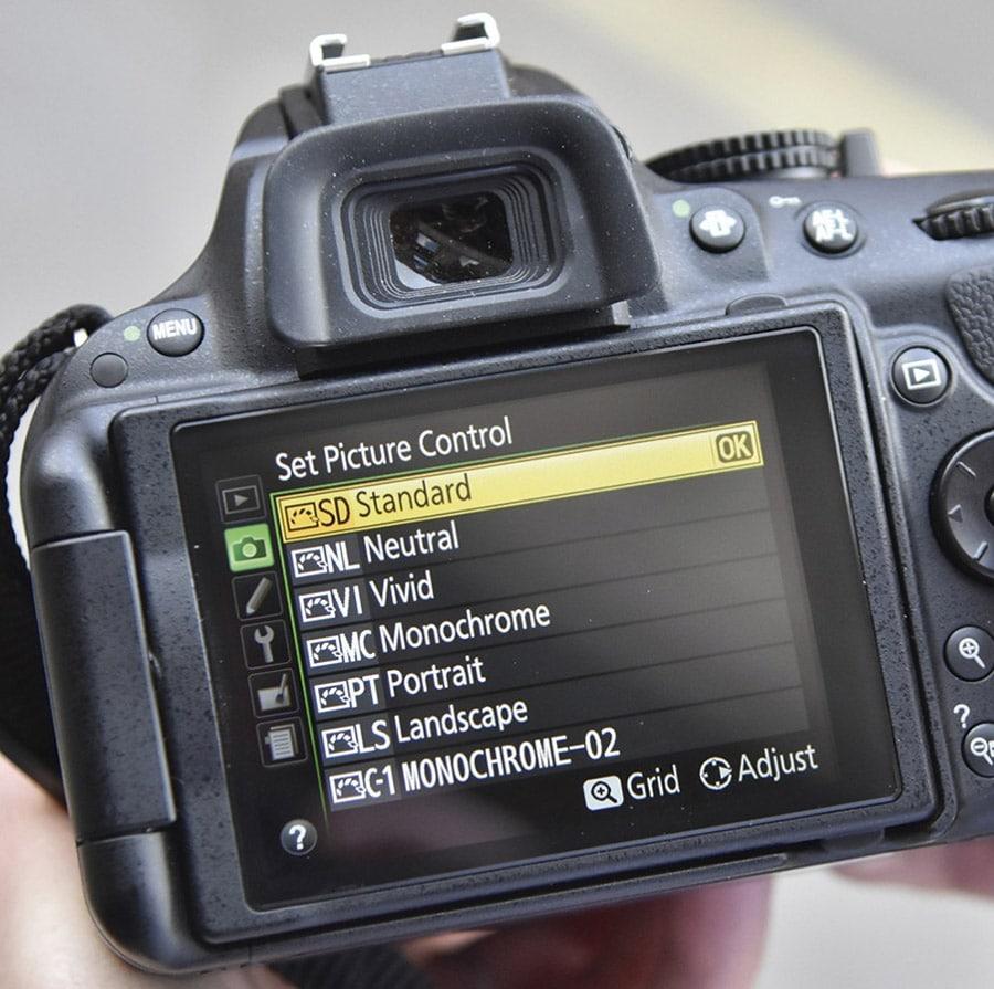 پروفایل دوربین