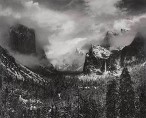 Clearing Winter Storm, Yosemite Valley, California, ca. 1937