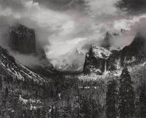 Clearing Winter Storm, Yosemite Valley, California, ca. 1937