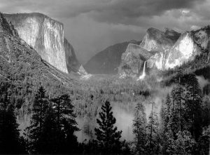 Yosemite Valley, Thunderstorm, 1949